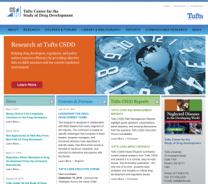 Tufts CSDD Home Page